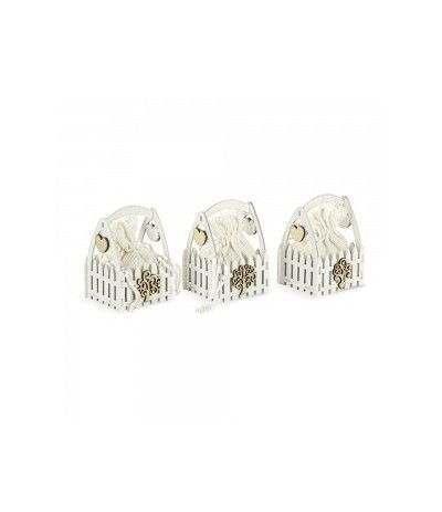gabbia legno confettata- 6 pezzi