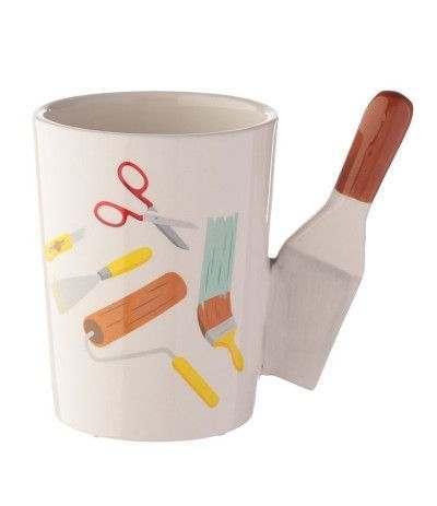 tazza manico pennello