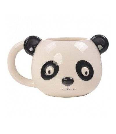 tazza panda con orecchie