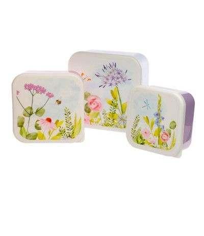 contenitori floreal- 3 pezzi