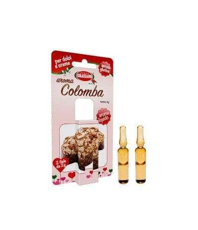 aroma colomba graziano- 2 fiale
