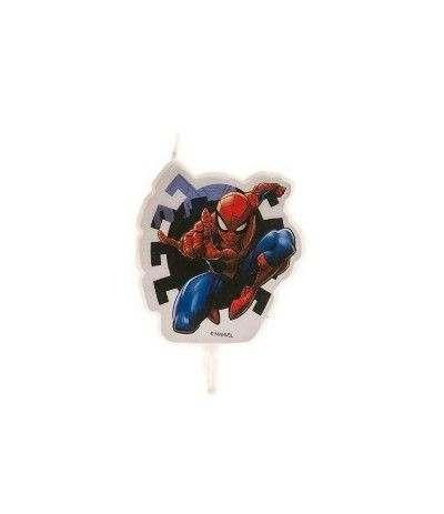 candelina spiderman- 7,5 cm