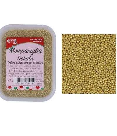mompariglia dorata- 70 gr