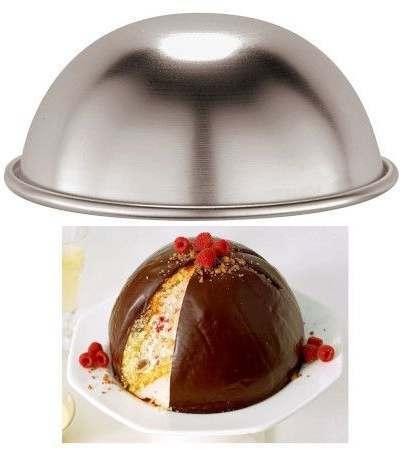 stampo mezza sfera- 22 cm x h 11