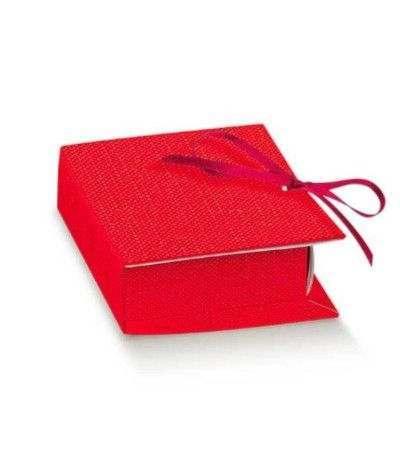 scatola rossa laurea libro