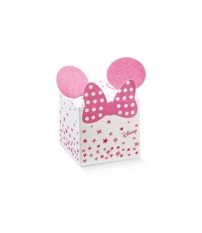 scatolina minnie rosa- 10 pezzi