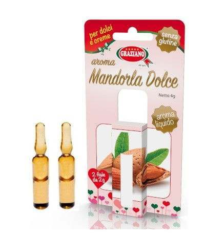 aroma liquido mandorla dolce- 2 fiale