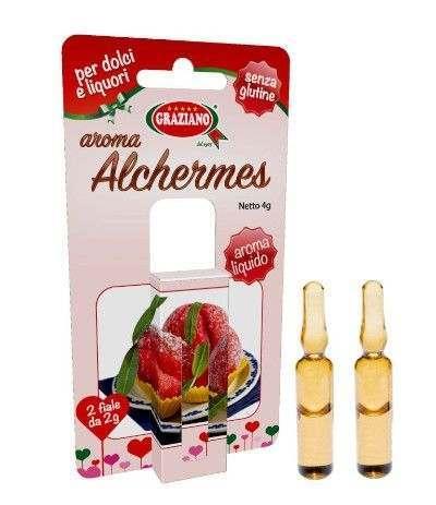 aroma liquido alchermes- 2 fiale
