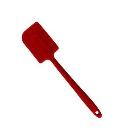 spatola in silicone rossa