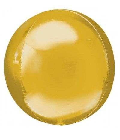 Palloncino sfera oro- 38 cm