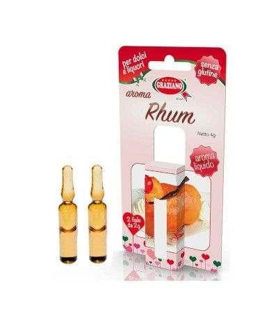 aroma liquido rhum- 2 fiale