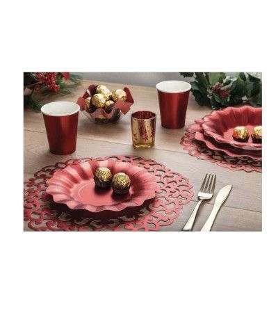 piatto grande rosso- 27 cm