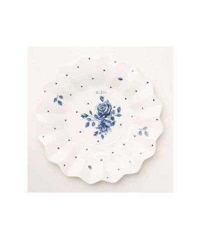 piatto english rose- 21 cm