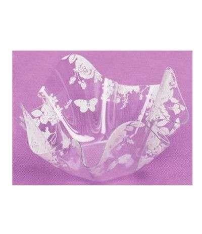 ciotolina plastica fiori- 13 cm