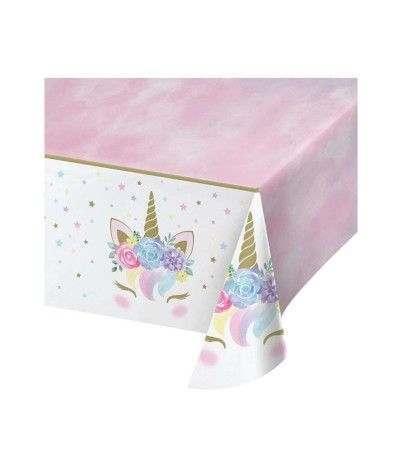 tovaglia unicorno pastello- 1,37 x 2,59 mt