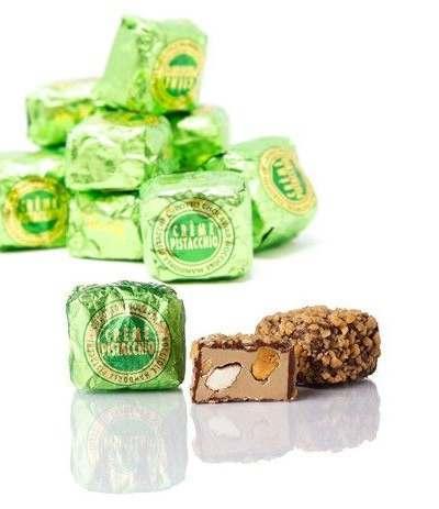 pralina con ripieno pistacchio venchi- 1 kg