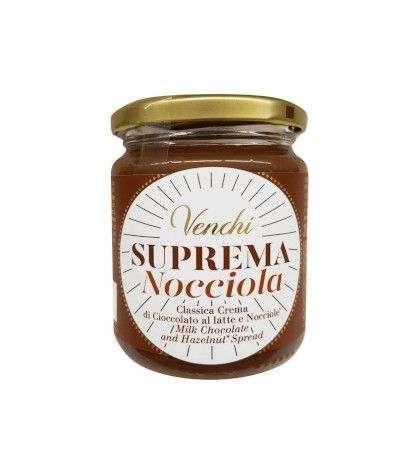 crema suprema venchi nocciola- 250 gr