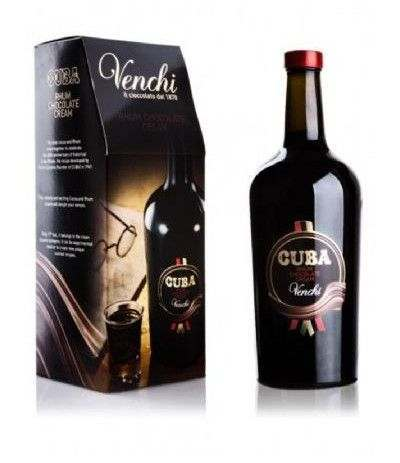 cuba rhum chocolate cream venchi- 70 cl