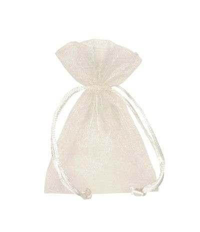 sacchetto tulle bianco- 10 pezzi