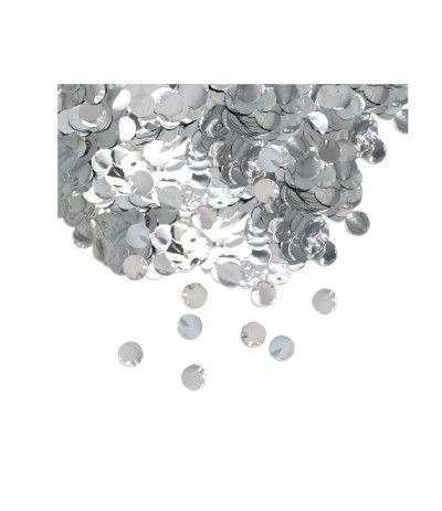 coriandolini argento- 50 gr