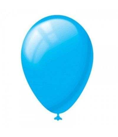 palloncini azzurro lattice- 20 pezzi