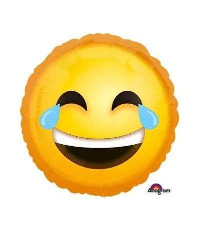 palloncino smile mylar- 46 cm