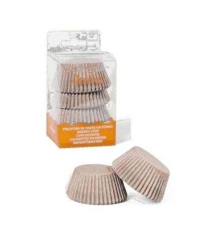 pirottini muffin kraft naturale- 75 pezzi