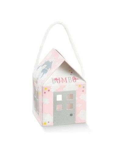 scatolina rosa dumbo- 10 pezzi