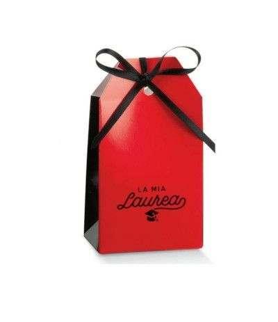 scatolina borsetta laurea- 10 pezzi