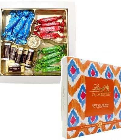 scatola cioccolatini lindt assortiti- 220 gr