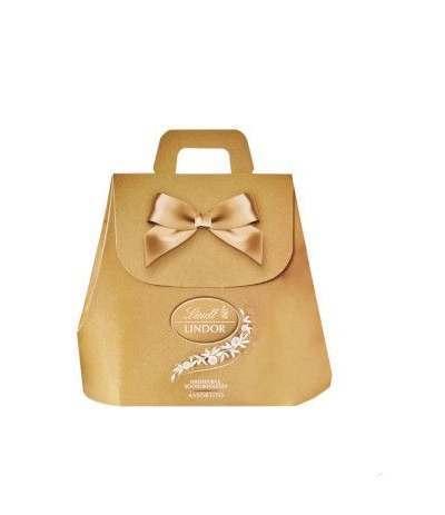 scatola oro cioccolatini lindt assortiti