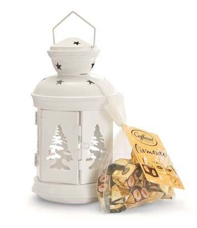 lanterna caffarel con cioccolatini