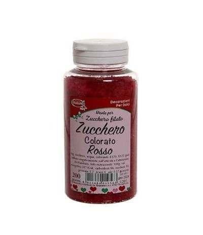 zucchero colorato rosso-200gr