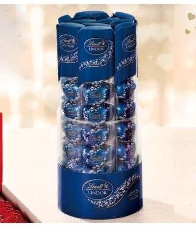 cuori lindt blu confezione