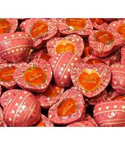 cuori rosa lindt 3pz