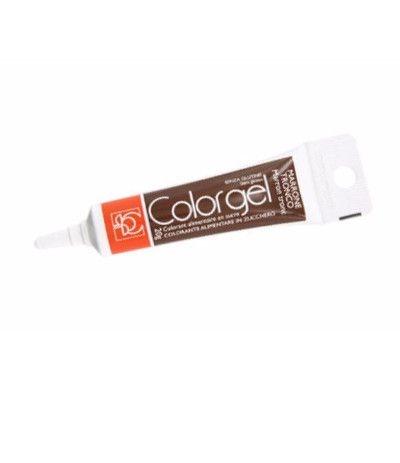 Colorante alimentare in gel marrone tronco- 20 gr