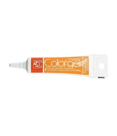 Colorante alimentare in gel arancio mandarino- 20 gr