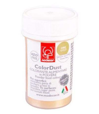 Colorante alimentare in polvere liposolubile oro- 3 gr