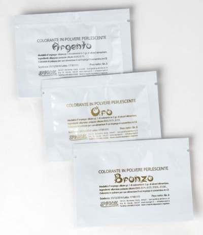 Colorante perlescente ipergel argento- 2 gr