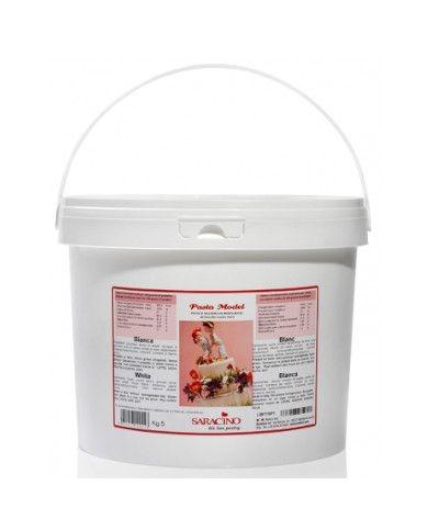 Pasta di zucchero model Saracino bianca- 5 kg