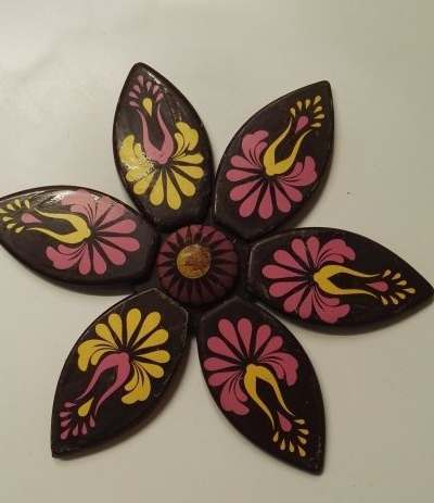 fiore cioccolato componibile