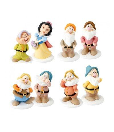 Kit Per Torte Biancaneve E I Sette Nani Principesse Disney - 8 Pezzi