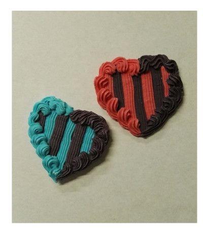 cuore di zucchero inter- 6 cm
