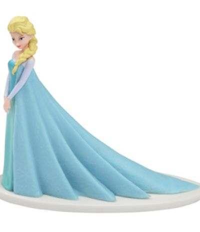Topper di plastica per torte Elsa Frozen- 8 cm