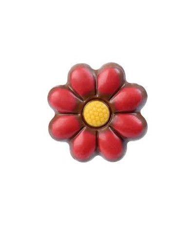fiore di cioccolato colorato