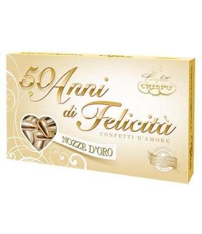 confetti crispo mandorla extrapelata oro- 500 gr