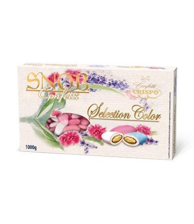 confetti crispo snob sfumati rosa- 1 kg