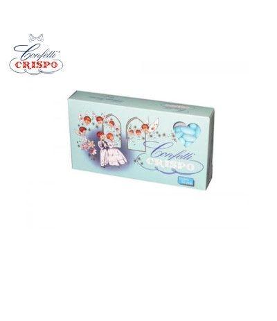 confetti crispo mandorla azzurri- 1 kg