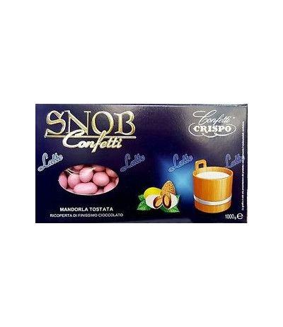 confetti crispo snob al latte rosa- 1 kg