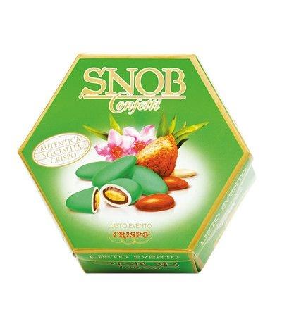 confetti incartati verdi snob- 500 gr